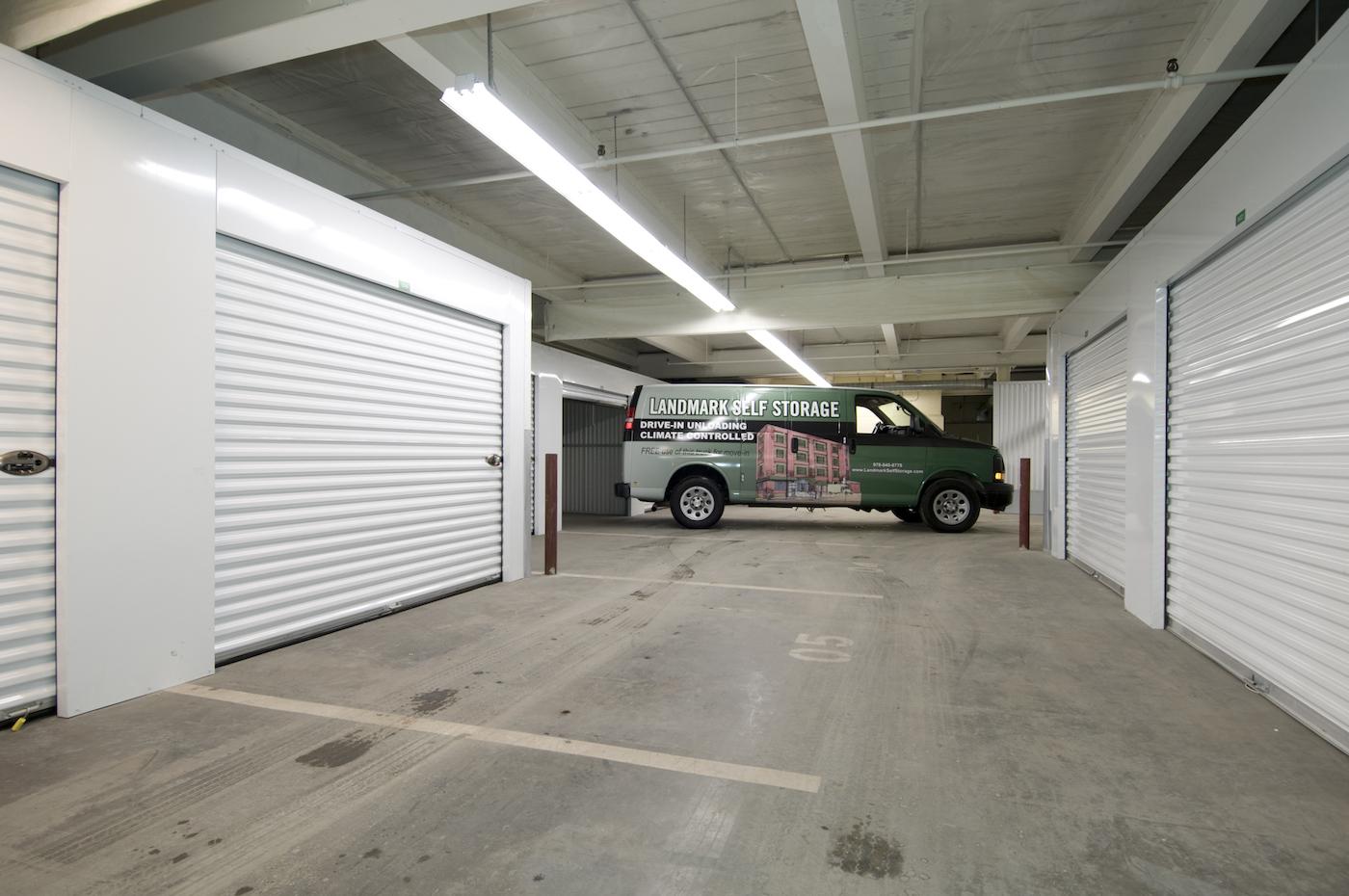 Free Van For Indoor Unloading